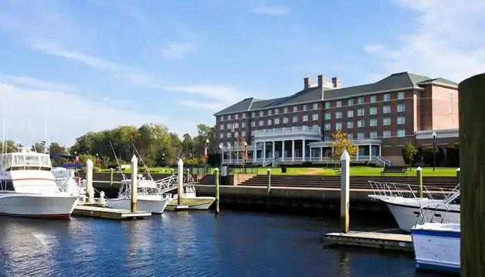 Hilton Garden Inn – Suffolk Riverfront