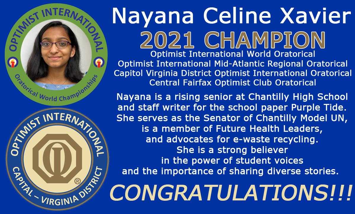 Nayana Wins